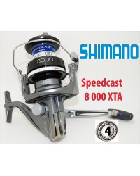 Moulinet Surf / Carpe Shimano Speedcast 8 000 XTA