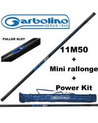 PACK COUP CARPE GARBOLINO EURO CARP EC6 11M50 (AVEC MINI-RALLONGE) + POWER KIT + FOURREAU