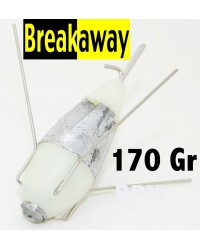 ( 170 GR ) PLOMB PHOSPHO BREAKAWAY IMPACT AVEC GRAPPINS DEBRAYABLE