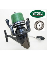 MOULINET SURF / CARPE MITCHELL AVOCAST 7 000 BRAID + TRESSE