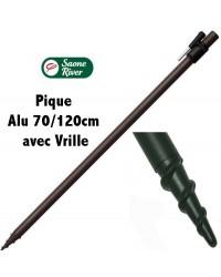 Pique Alu 70/120cm avec Vrille ( Saone River )