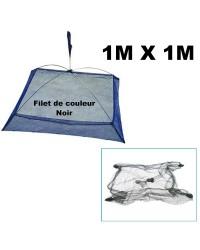 CARRELET PLIANT REHAUSSÉ ANTI-FUITE ( 1M X 1M )