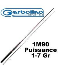 CANNE MICRO LEURRE GARBOLINO AVENGER ML 1M90