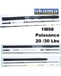 CANNE BATEAU OKUMA VOYAGE / TRAVEL CLASSIC BOAT 20-30LBS