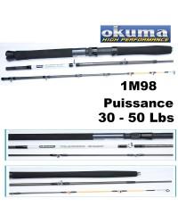 CANNE BATEAU OKUMA VOYAGE / TRAVEL CLASSIC BOAT 30-50LBS