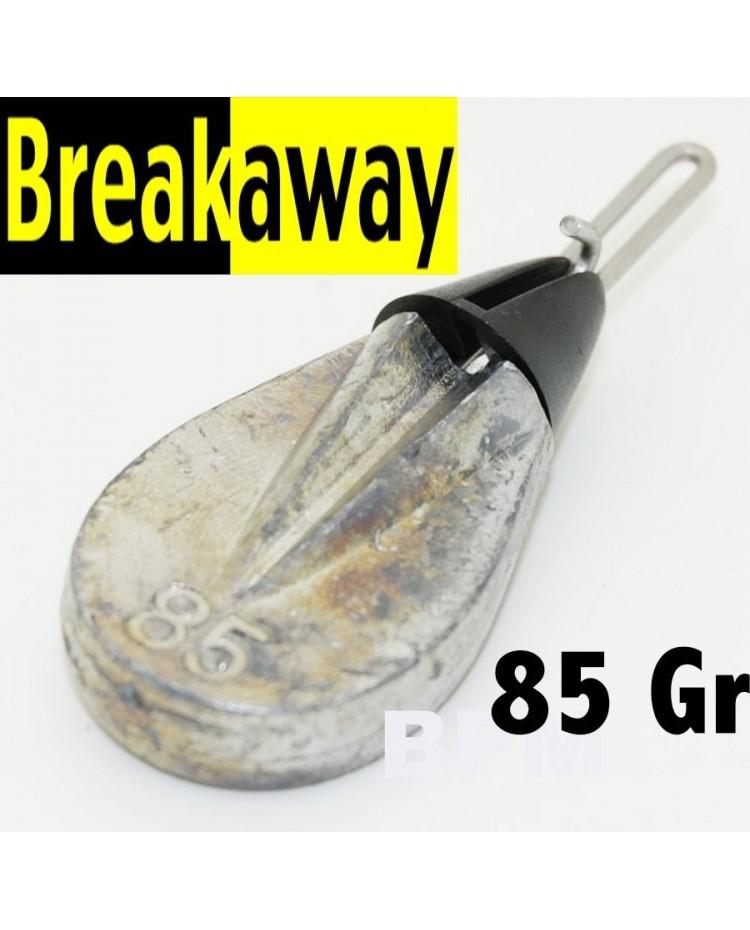 ( 85 GR ) PLOMB PLAT BREAKAWAY IMPACT SANS GRAPPIN